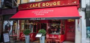 Café Rouge in administration