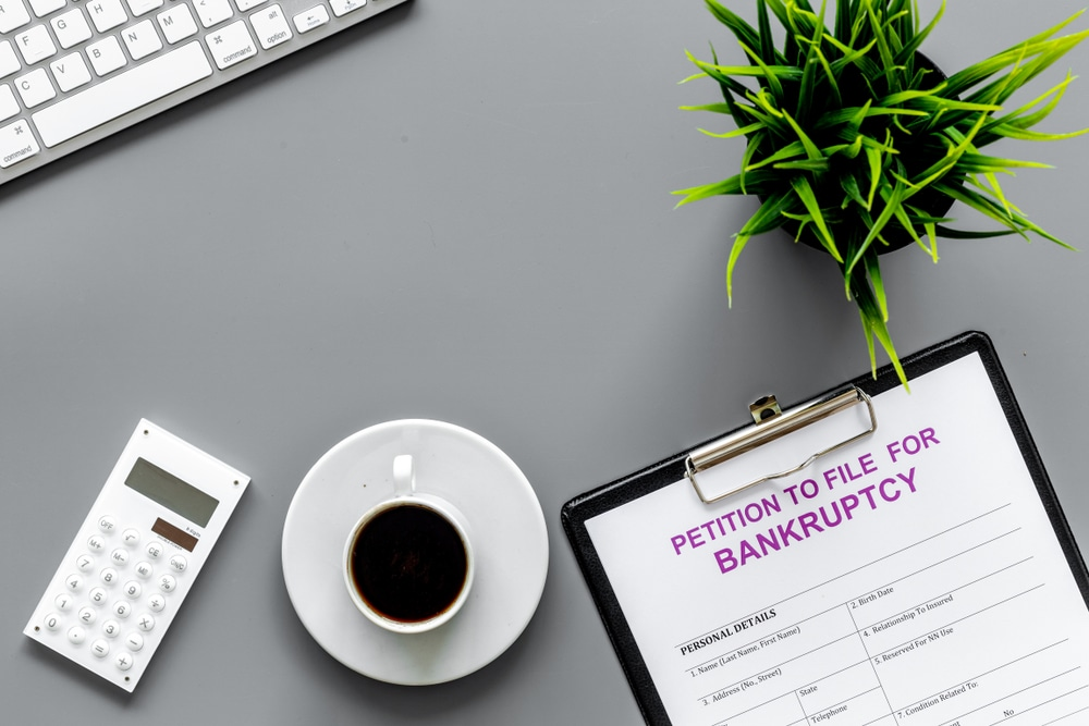 Debtor's bankruptcy petition