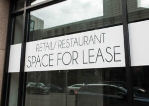 Commercial tenants are currently protected from eviction