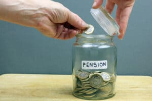 can creditors take your pension uk